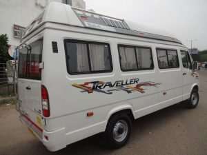 12 Seater Tempo Traveller On Rent In Jaipur